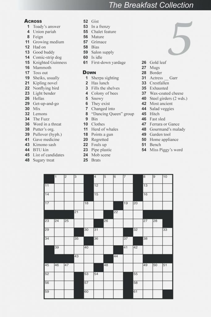 image about Large Print Crossword Puzzles Printable titled Free of charge Printable Substantial Print Crossword Puzzles M3U8 - Absolutely free
