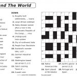 Free Printable Large Print Crossword Puzzles | M3U8   Free Printable Large Print Crossword Puzzles