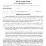 Free Printable Legal Forms   Classy World   Free Printable Legal Documents