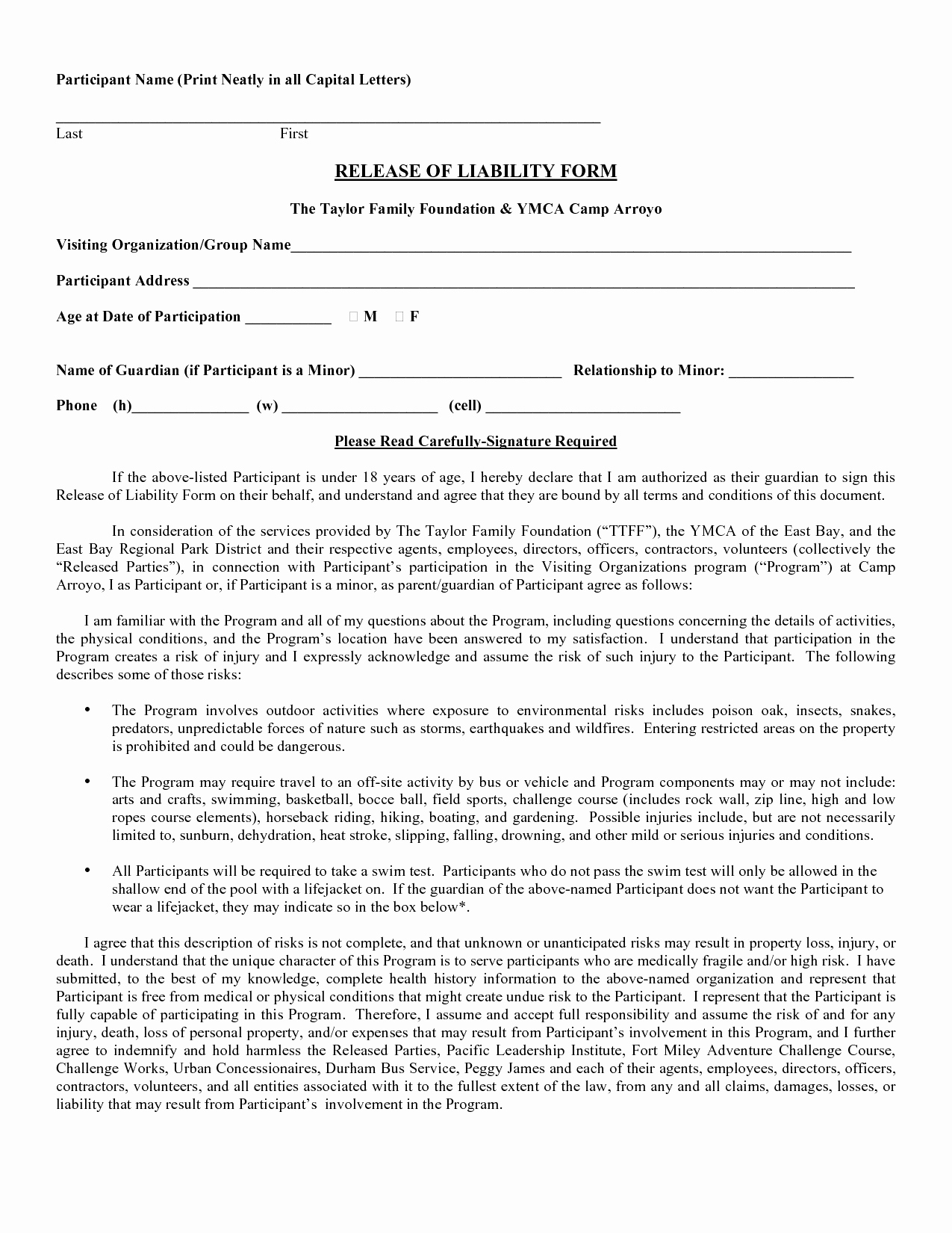 Free Printable Legal Forms - Classy World - Free Printable Legal Documents