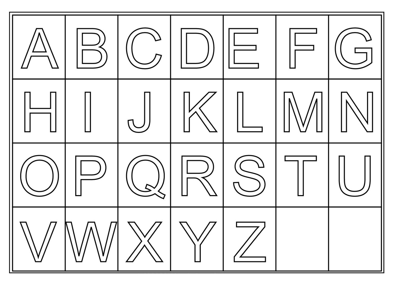 Free Printable Letters Az – Ezzy - Free Printable Letters Az