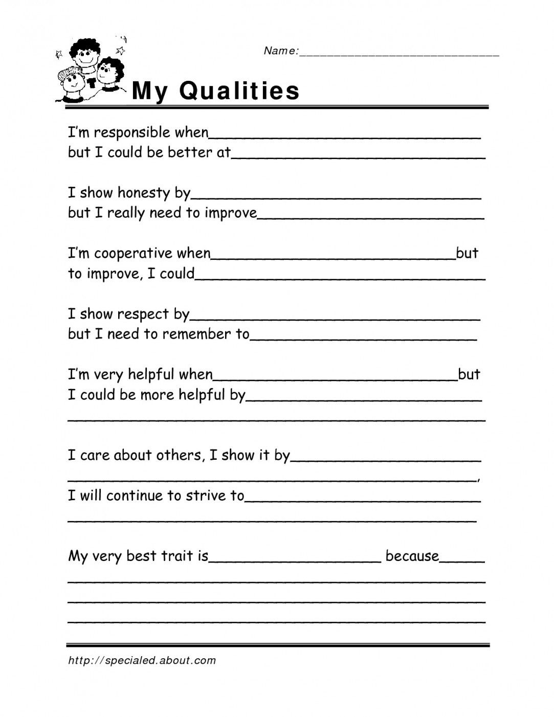 Free Printable Life Skills Worksheets   Lostranquillos - Free Printable Life Skills Worksheets