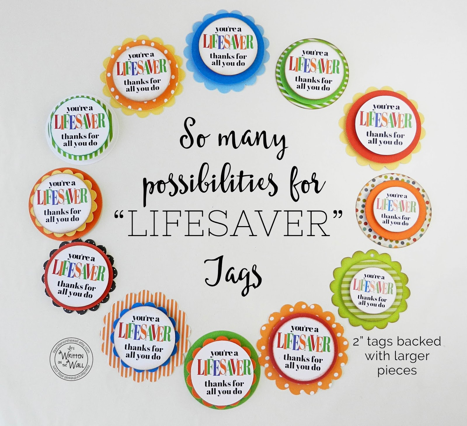 Free Printable Lifesaver Tags - All Free Tag Designs - Free Printable Lifesaver Tags
