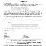 Free Printable Living Will Form Louisiana   7.11.hus Noorderpad.de •   Free Printable Living Will