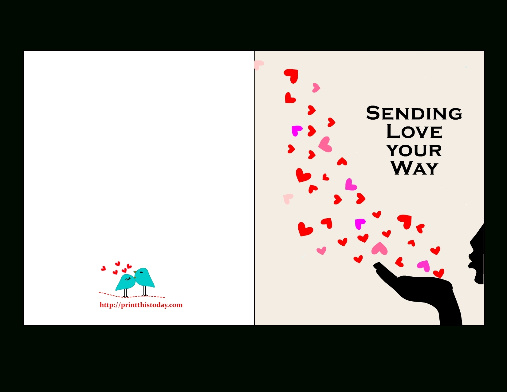 Free Printable Love Card | Tyler | Pinterest | Love Cards, Cards And - Free Printable Love Cards