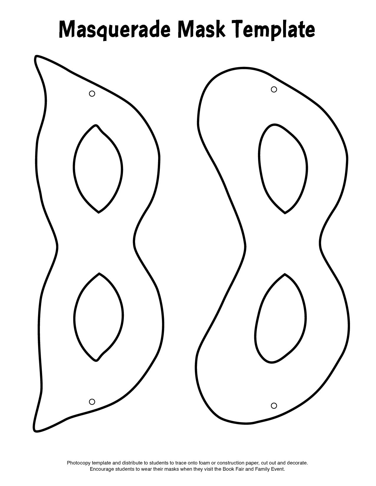 Free Printable Masquerade Masks - Babylon Yahoo! Search Results - Free Printable Masks