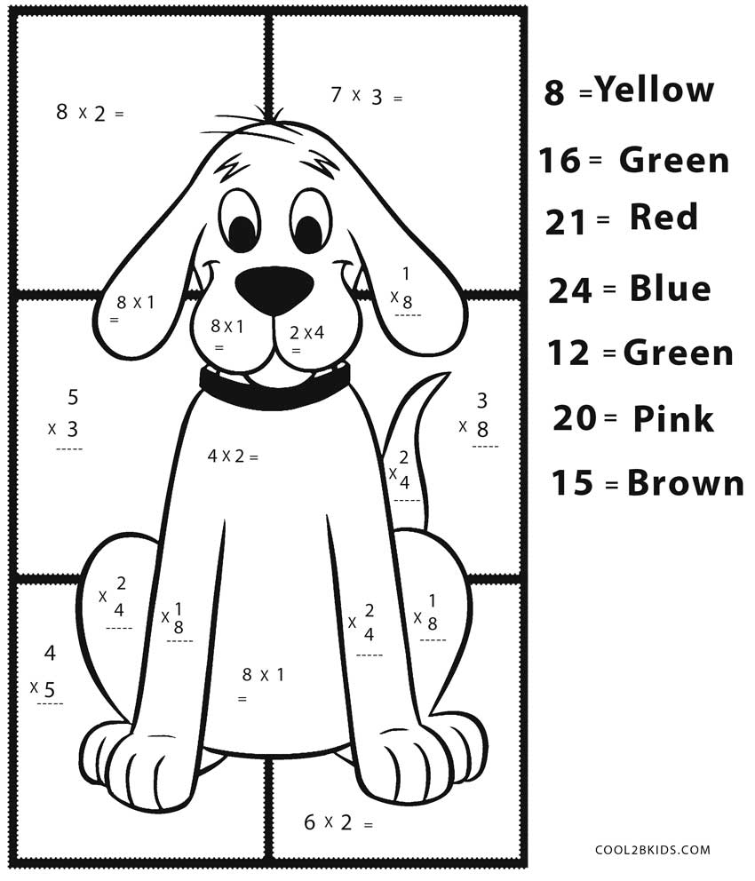 Free Printable Math Coloring Pages For Kids | Cool2Bkids - Free Printable Math Coloring Sheets