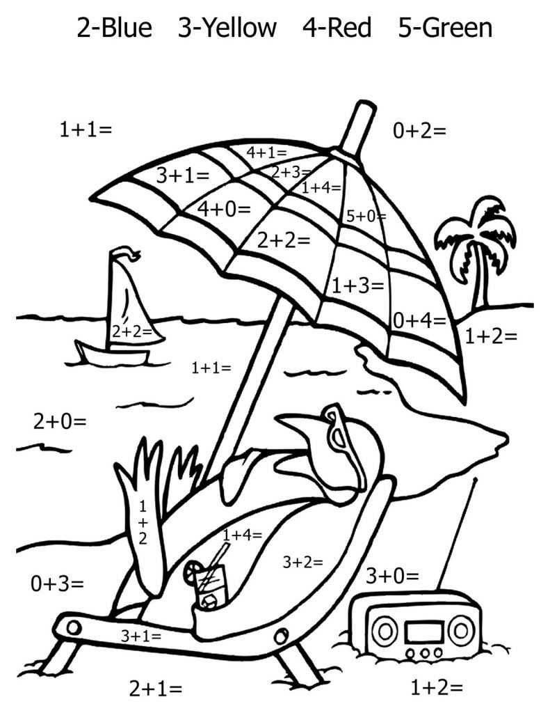 Free Printable Math Coloring Pages For Kids | Miscellaneous Coloring - Free Printable Math Coloring Sheets