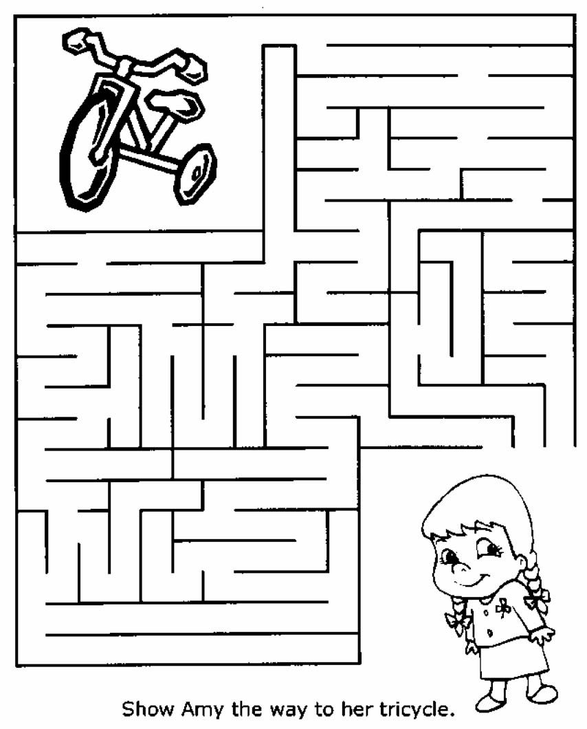 Free Printable Mazes For Kids At Allkidsnetwork | Mazes - Free Printable Mazes