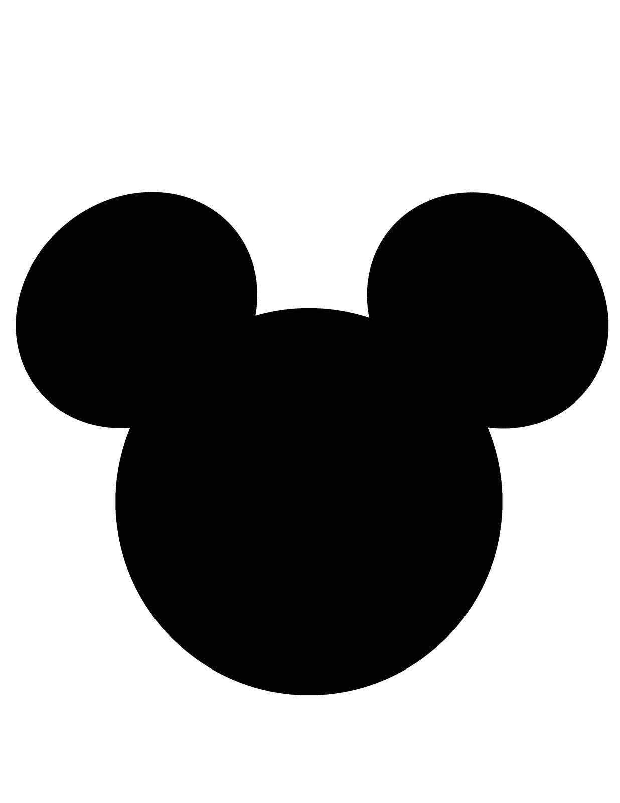 Free Printable Mickey Mouse, Download Free Clip Art, Free Clip Art - Free Printable Mickey Mouse Head