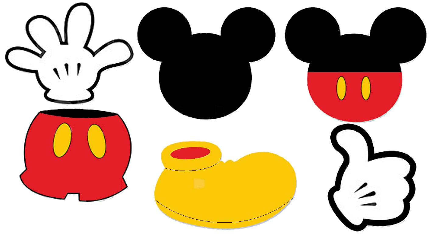 graphic relating to Free Printable Mickey Mouse Head Template named Absolutely free Printable Mickey Mouse Brain, Obtain Totally free Clip Artwork
