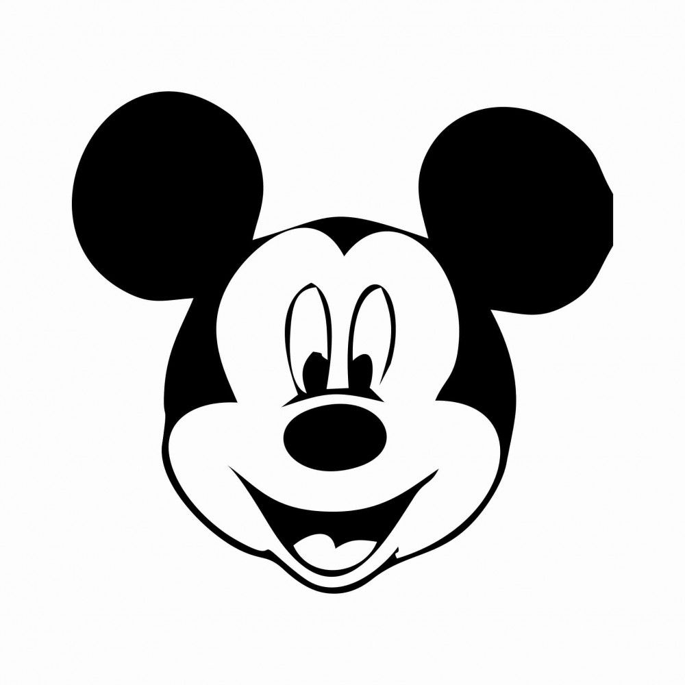 Free Printable Mickey Mouse Template   34 Mickey Mouse Face Template - Free Printable Mickey Mouse Template
