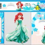 Free Printable Mini Kit For Your Little Mermaid Party. | Oh My   Free Printable Little Mermaid Water Bottle Labels