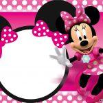 Free Printable Minnie Mouse Birthday Invitations – Bagvania Free   Free Printable Mickey Mouse Invitations