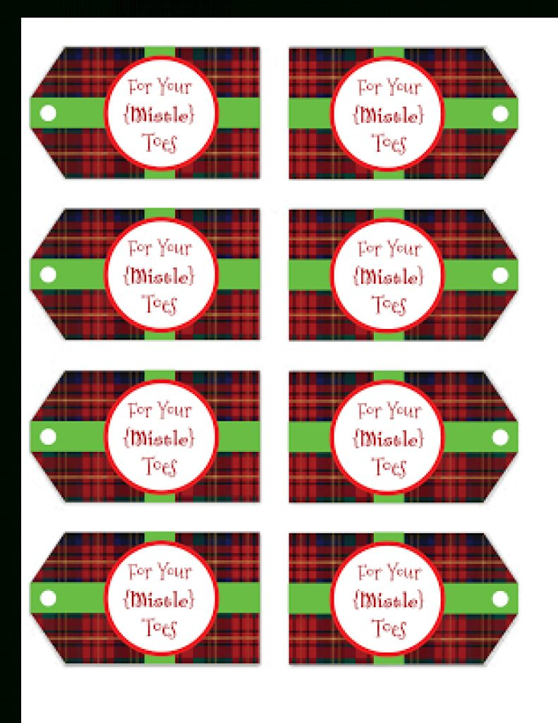 graphic about Printable Mistletoe identified as Absolutely free Printable Mistletoe Tags Absolutely free Printable Obtain