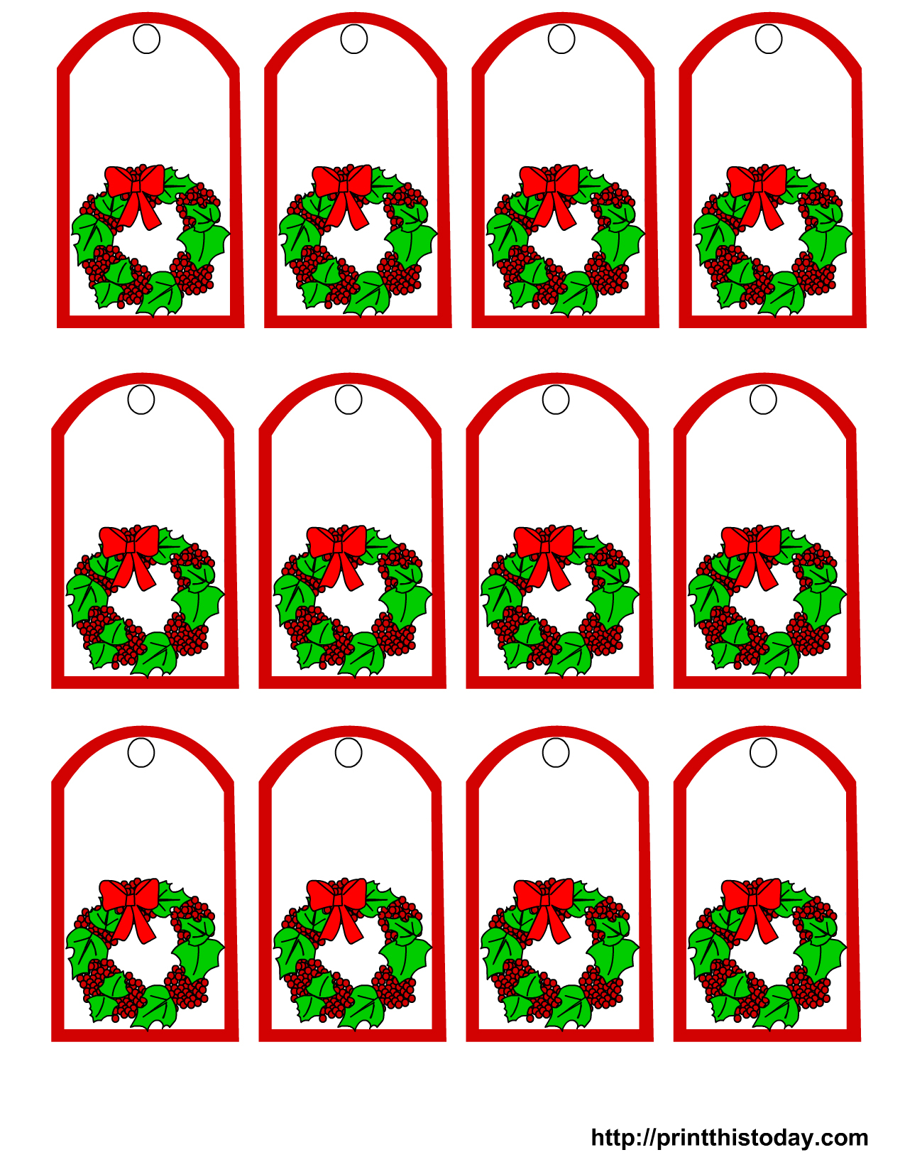 image regarding For Your Mistletoes Printable Tags titled Absolutely free Printable Mistletoe Tags No cost Printable Obtain