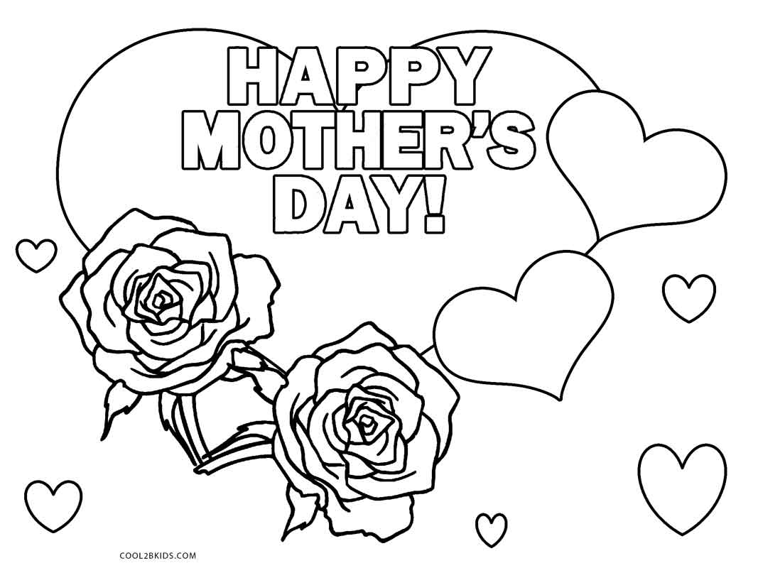 Free Printable Mothers Day Coloring Pages For Kids | Cool2Bkids - Free Printable Mothers Day Coloring Cards