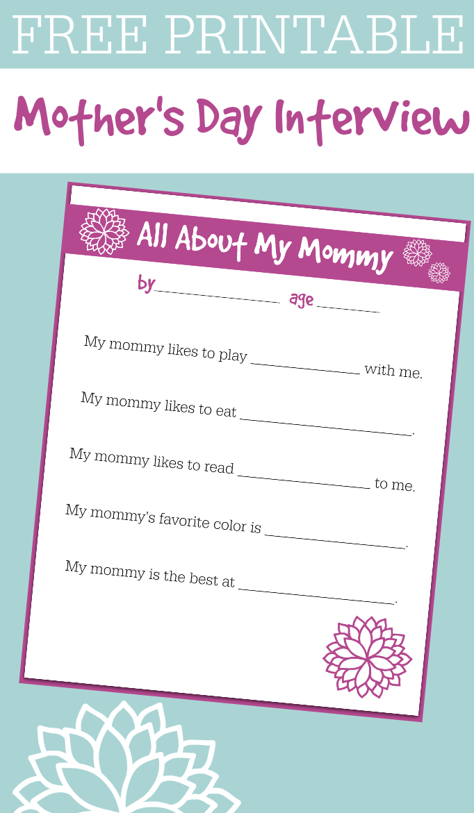 Free Spanish Mothers Day Cards Printable