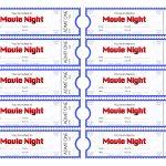 Free Printable Movie Tickets | Bestprintable231118   Make Your Own Tickets Free Printable