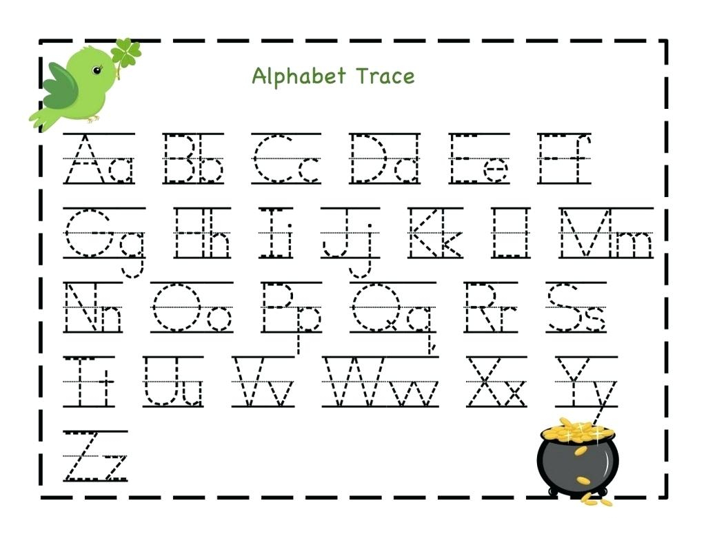 Free Printable Name Tracing Worksheets Free Kindergarten Capital - Free Printable Alphabet Tracing Worksheets