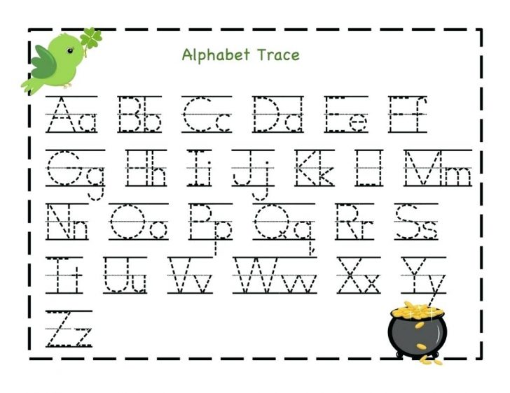 Free Printable Name Tracing Worksheets For Preschoolers