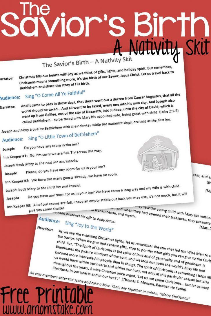 Free Printable Christmas Plays For Sunday School