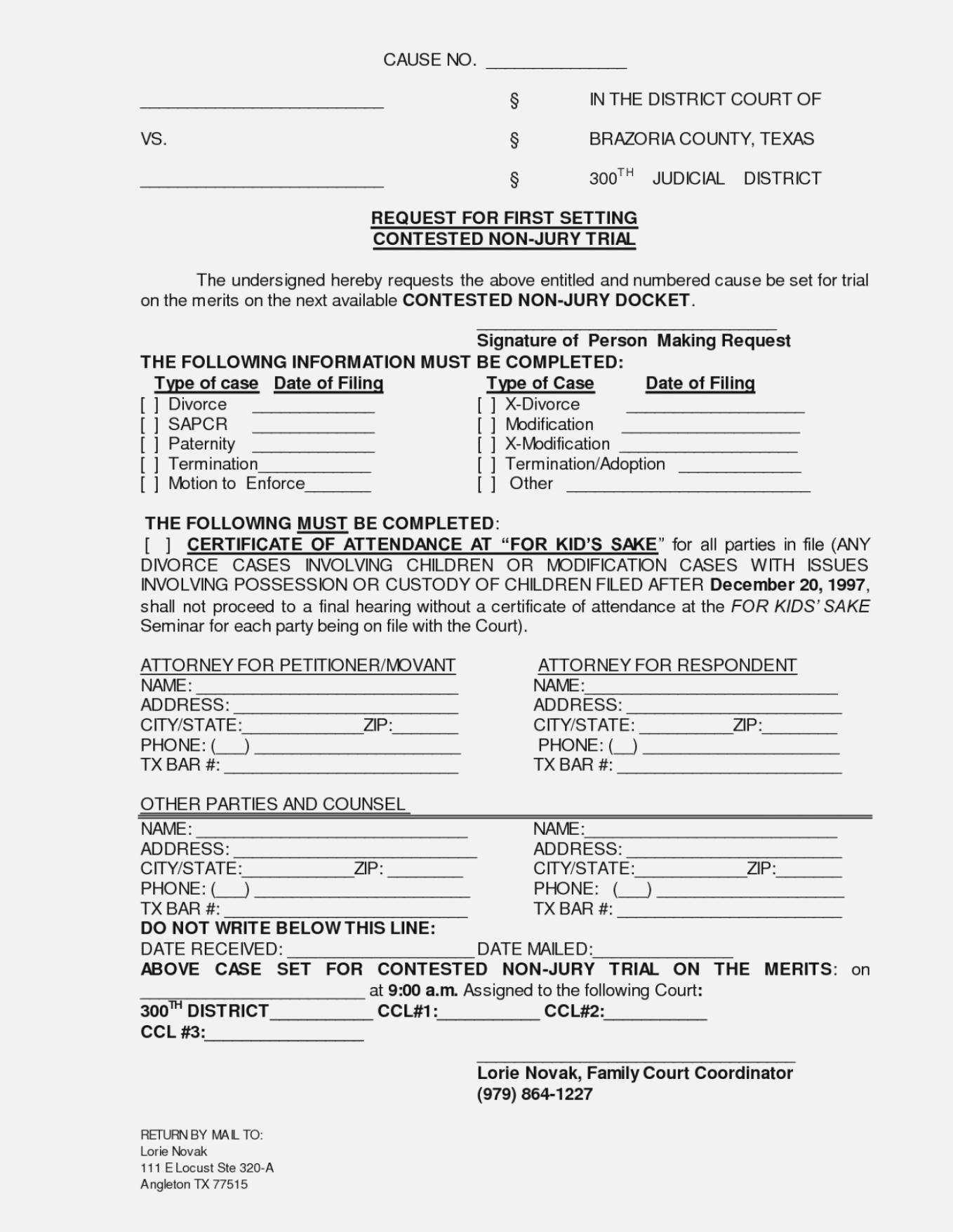 Free Printable Nj Divorce Forms - Free Printable Nj Divorce Forms