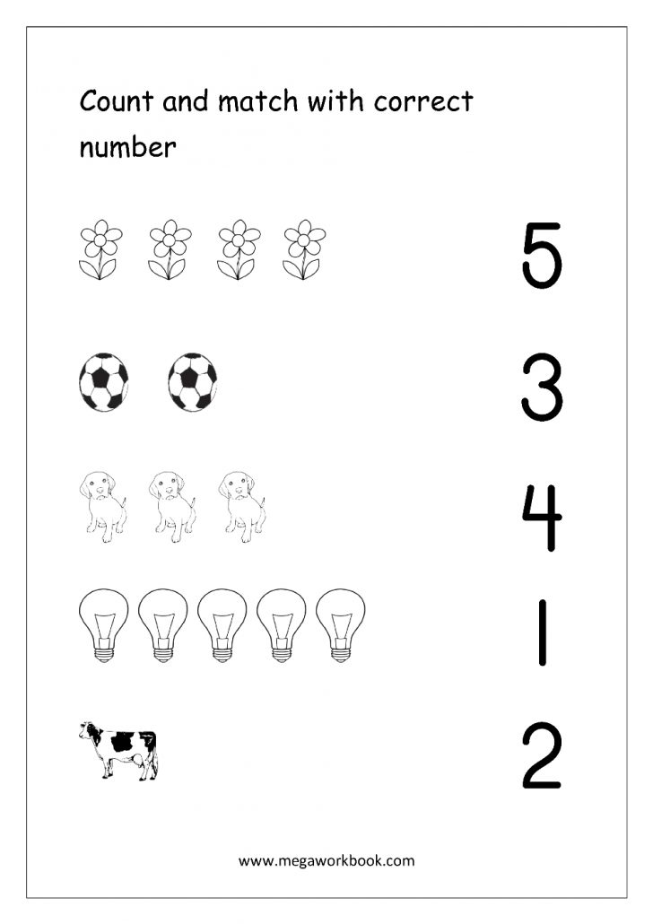 Free Printable Mirrored Numbers