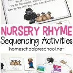 Free Printable Nursery Rhyme Sequencing Cards And Posters   Free Printable Nursery Rhymes