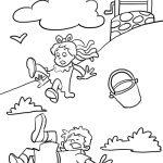 Free Printable Nursery Rhymes Coloring Pages For Kids   Free Printable Nursery Rhyme Coloring Pages