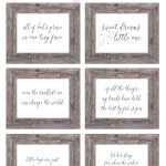 Free Printable Nursery Wall Art – The Girl Creative – Free Printable Wall Art Prints