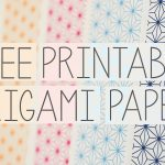 Free Printable Origami Papers From Paper Kawaii 💗   Youtube   Printable Origami Instructions Free