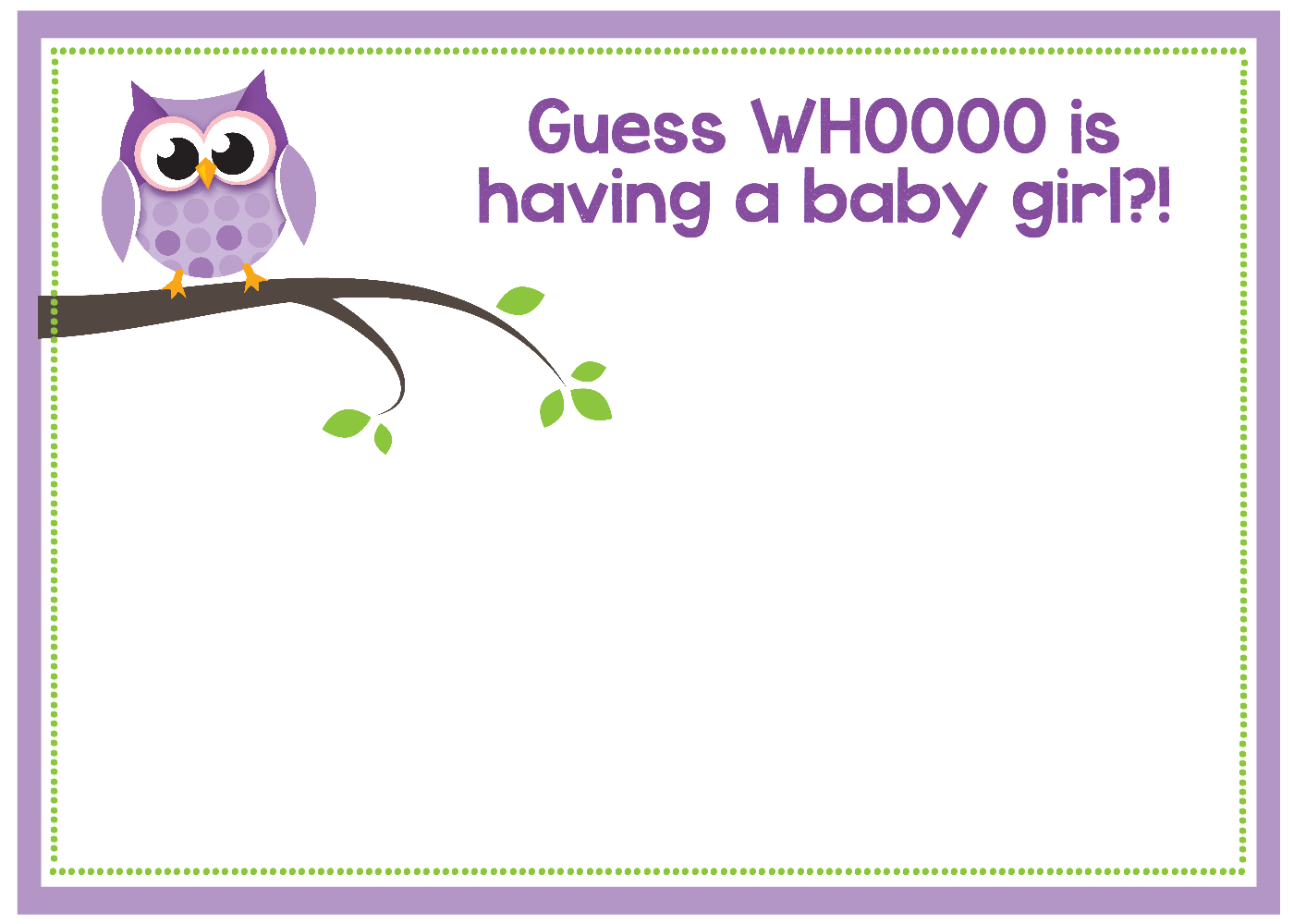 Free Printable Owl Baby Shower Invitations {& Other Printables} - Baby Shower Templates Free Printable