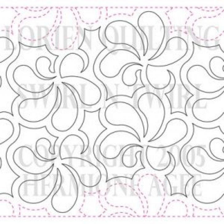 Free Printable Pantograph Quilting Patterns