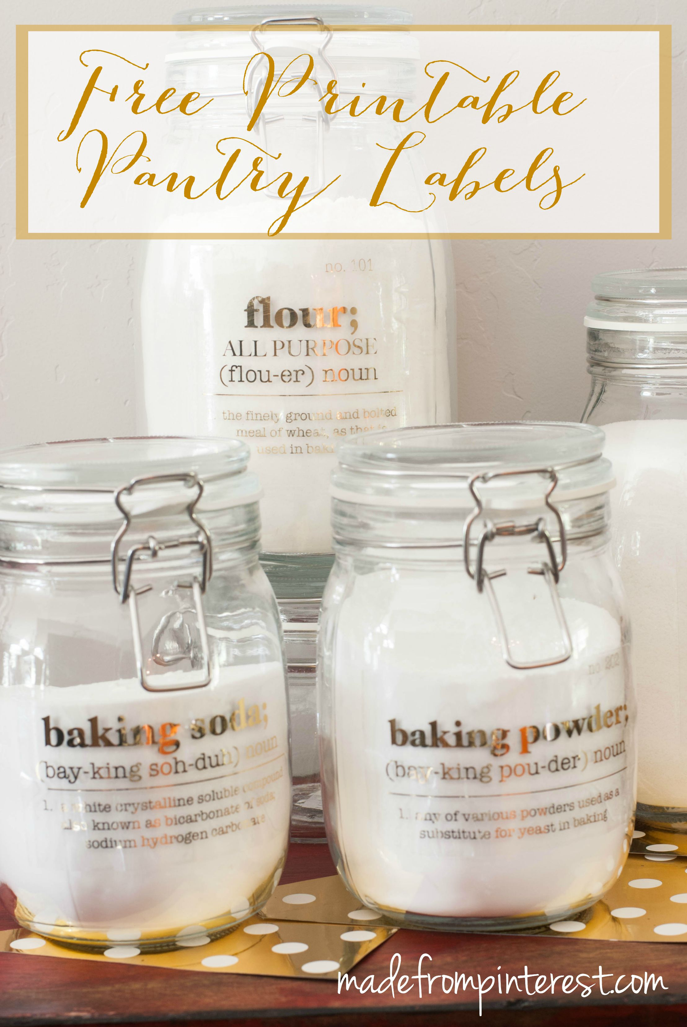 Free Printable Pantry Labels - Tgif - This Grandma Is Fun - Free Printable Pantry Labels