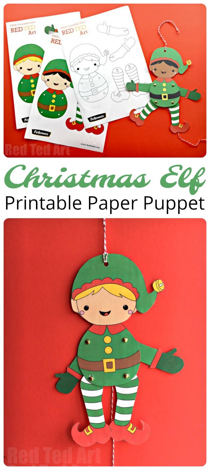 Free Printable Paper Elf - 17.mackenzieinteriors.co • - Free Printable Elf Pattern