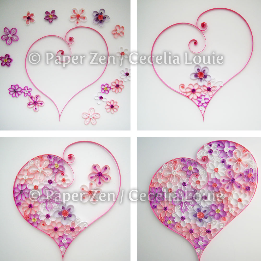Free Printable Paper Quilling Patterns | Download Them Or Print - Free Printable Quilling Patterns Designs