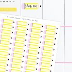 Free Printable Pencil School Planner Stickers | Printables   Free Printable Stickers For Teachers