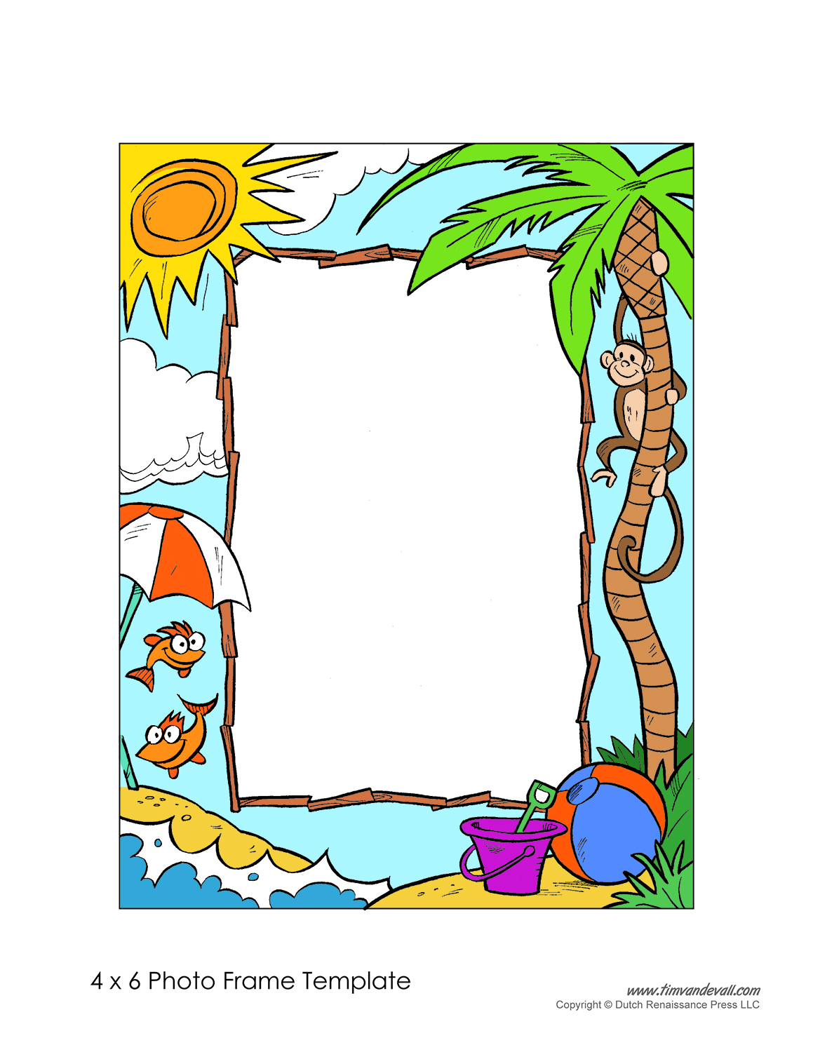 Free Printable Picture Frame Templates - Picture Frame Ideas - Free Printable Photo Frames