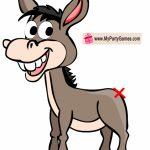 Free Printable Pin The Tail On Donkey Game | Free Birthday In Pin   Pin The Tail On The Donkey Printable Free