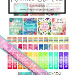 Free Printable Planner Stickers • The Pinning Mama   Printable Erin Condren Stickers Free
