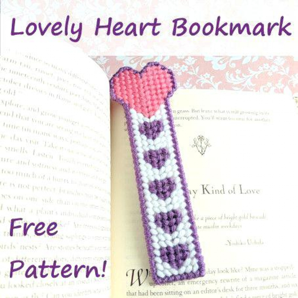 Free Printable Plastic Canvas Patterns Bookmarks | Free Printable - Free Printable Plastic Canvas Patterns Bookmarks