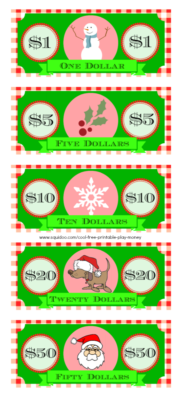 Free Printable Play Money Kids Will Love - Free Printable Money For Kids