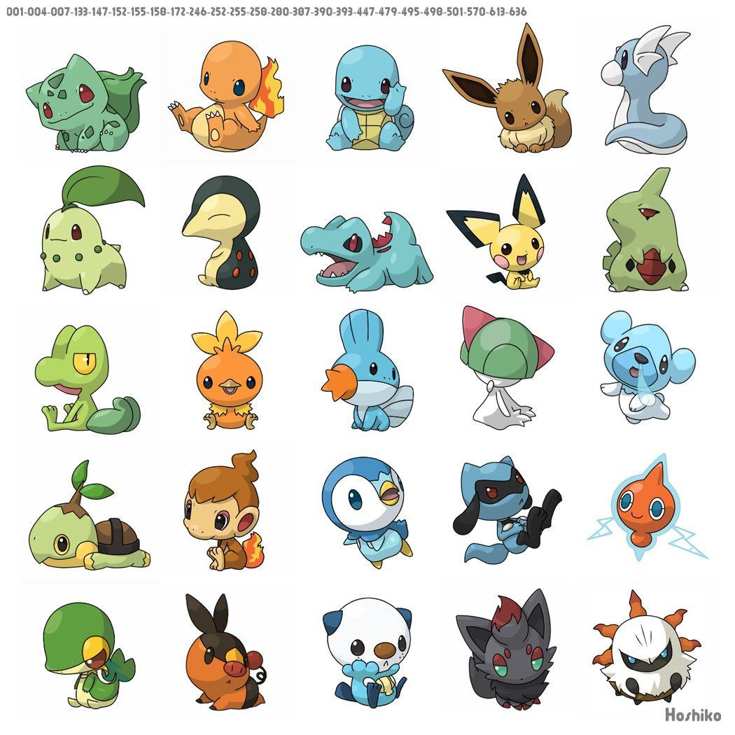Free Printable Pokemon Stickers & Charms | Divers | Fotos De Pokemon - Free Printable Pokemon Pictures