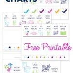 Free Printable Preschool Chore Charts   Free Printable Job Charts For Preschoolers