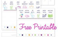 Free Printable Toddler Chore Chart