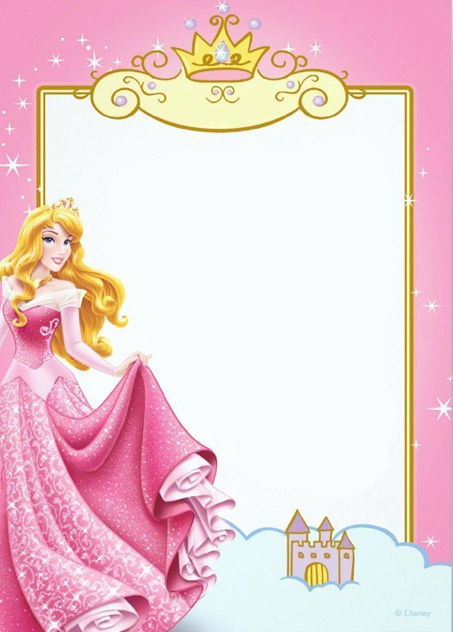 Free Printable Princess Invitation Templates | Masana | Pinterest - Free Printable Princess Invitation Cards