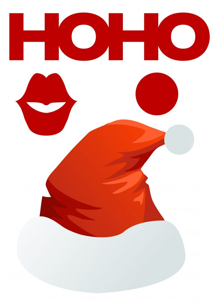 Free Printable Christmas Props