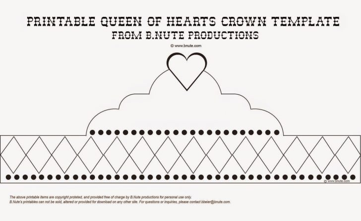 Free Printable Crown