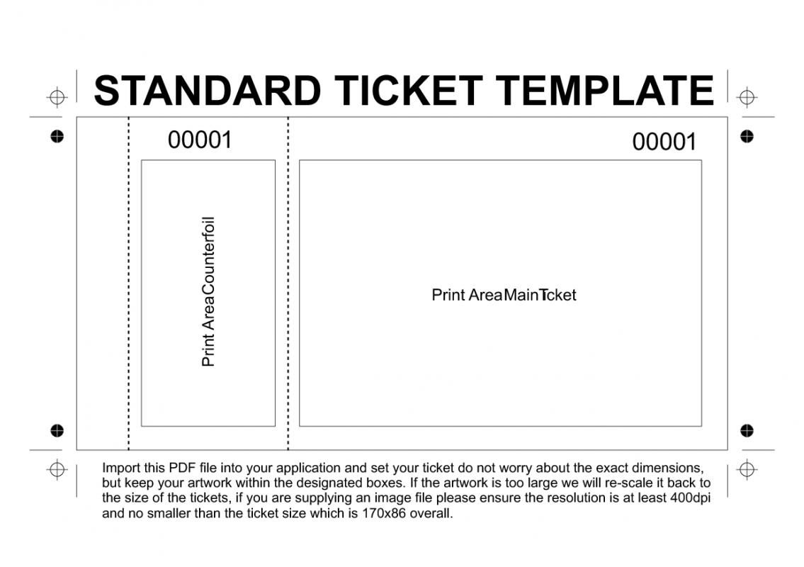 Free Printable Raffle Tickets Template | Template | Ticket Template - Free Printable Admission Ticket Template